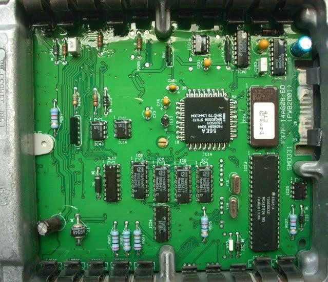 OEM Mazda B3000 ECM ECU PCM Computer #F47F CAA / DUG0