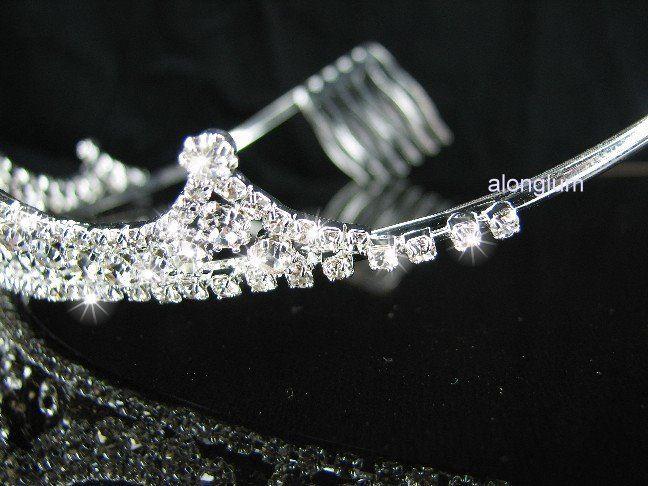 A248 Clear Wedding Bridal Bridesmaid Swarovski Crystal Rhinestone Prom