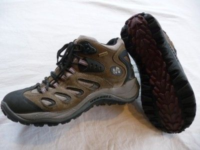 Merrell Reflex Mid Gore Tex Hiking trail boots shoes Mens size 8.5