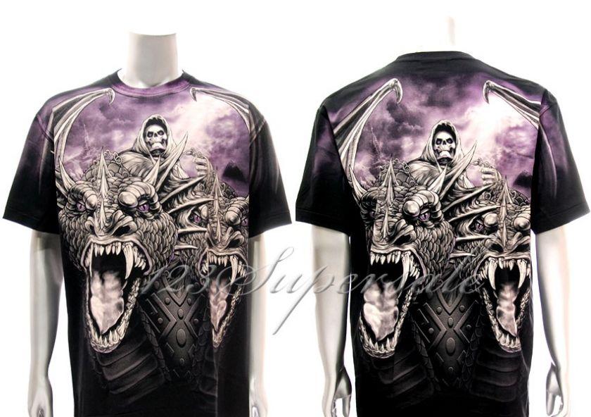 XXXL Rock Eagle T shirt Special Tattoo Skull Death Angel Monster Rock