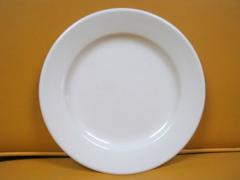 REGO FINE PORCELAIN WHITE DINNER PLATE MADE IN CHINA |